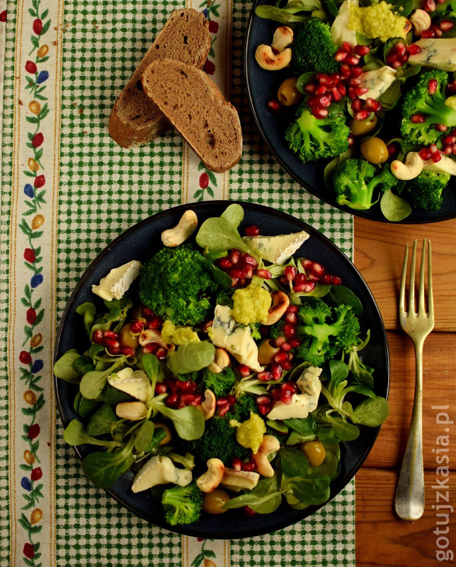 salatka z granatem 1