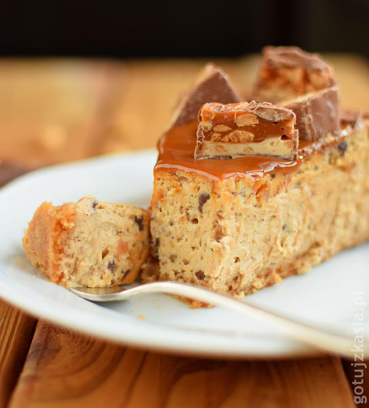 sernik snickers 6