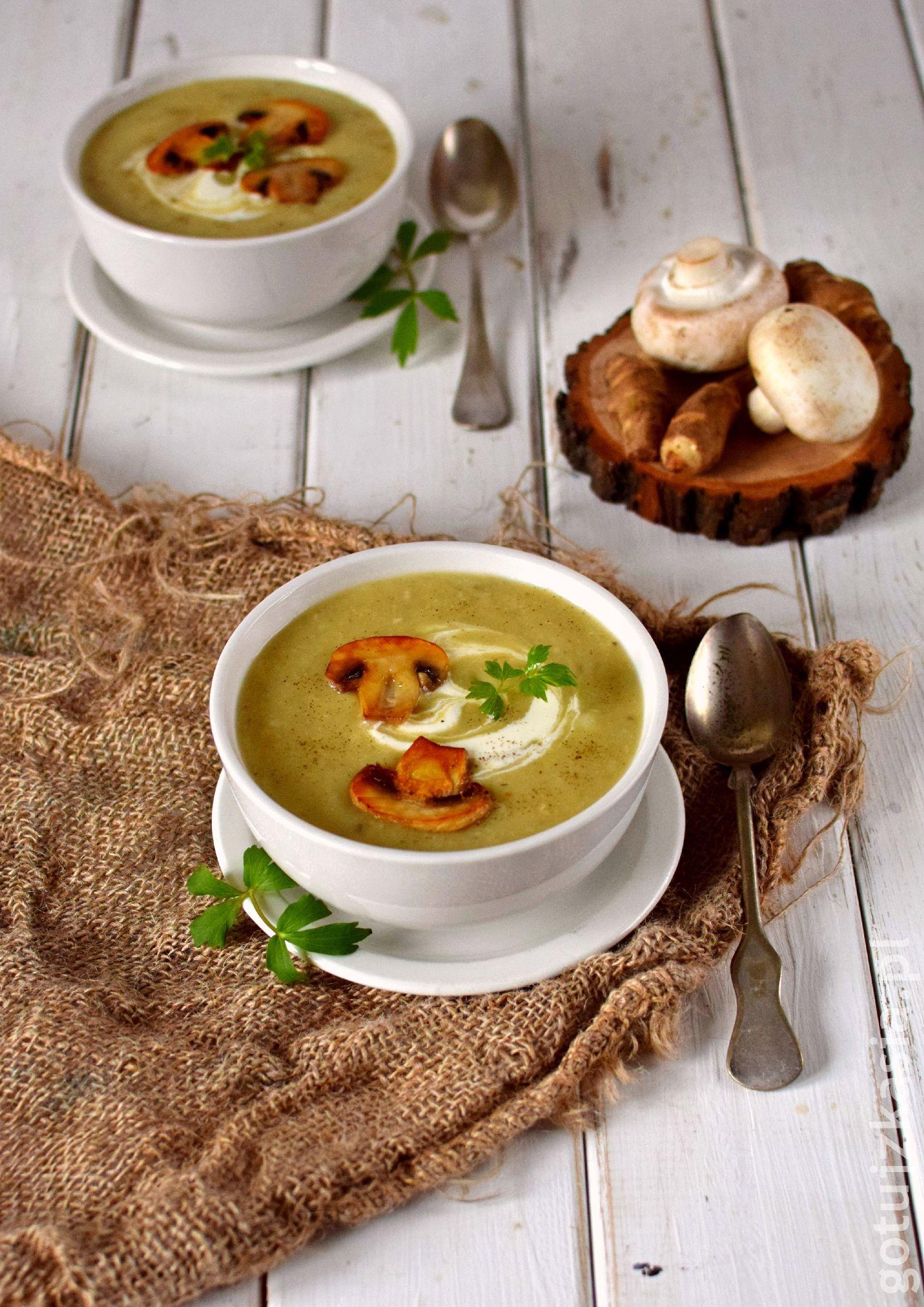 Sieradz_zupa z topinamburem 1