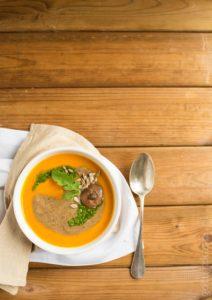 zupa dyniowo-grzybowa 2