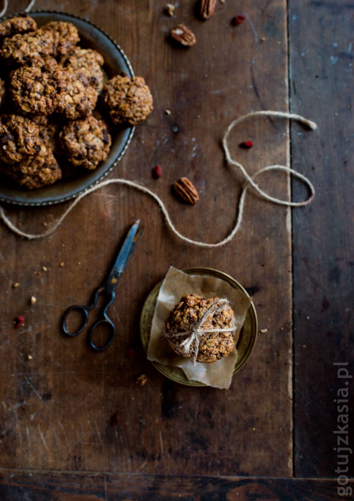 owsiane ciastka z daktylami 3