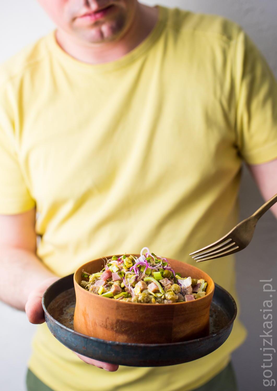 salatka z kielbasa 1